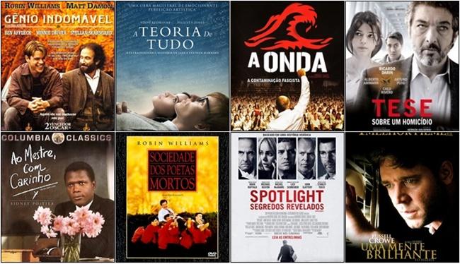 filmes incríveis acadêmicos professores carreira