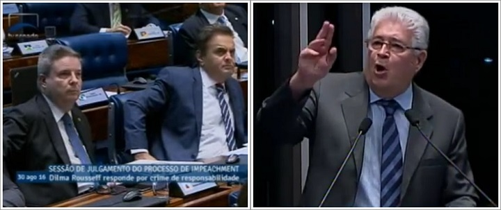 Aécio Neves Roberto Requião Tancredo impeachment canalhas