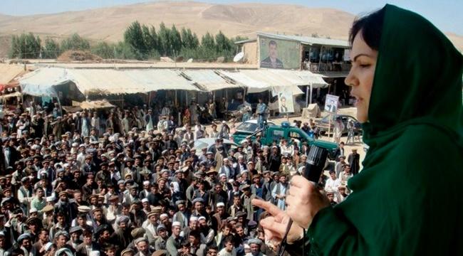 Afeganistão mulher política congresso parlamento