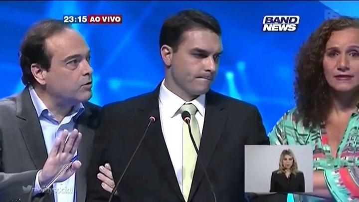 jandira feghali flávio bolsonaro