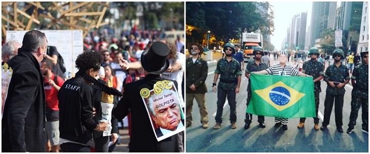 Manifestações pró e contra Dilma aconteceram no último dia 31 de Julho