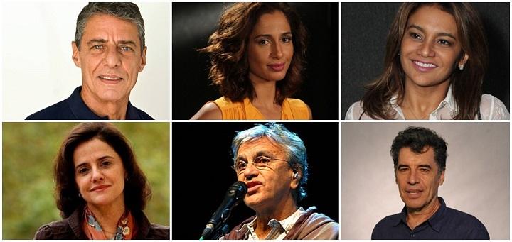 artistas impeachment senado dilma