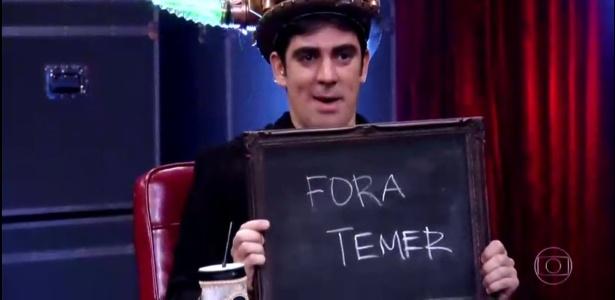 Marcelo Adnet Fora Temer