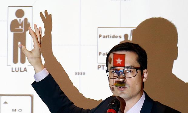 Dallagnol adotou discurso político denúncia contra Lula Lava Jato