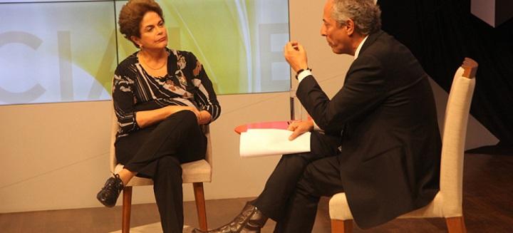 Dilma TVE entrevista exclusiva mãe cachorro