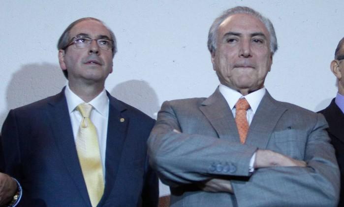 Eduardo Cunha Michel Temer cassado