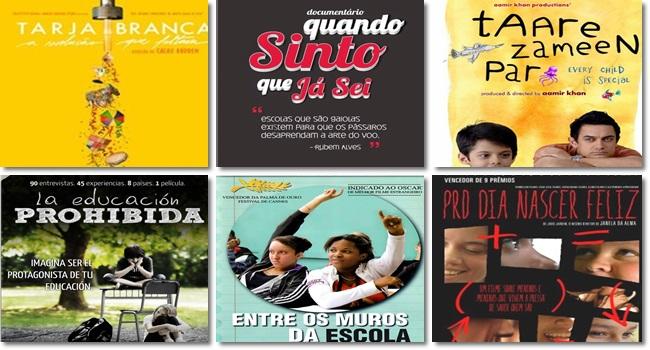 filmes inspirados pensar a educação cinema inspiração metodologia