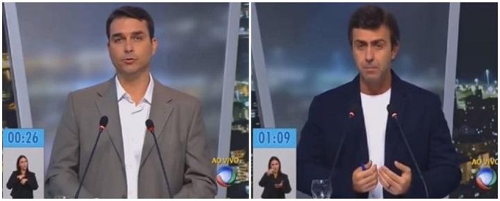Flávio Bolsonaro Marcelo Freixo