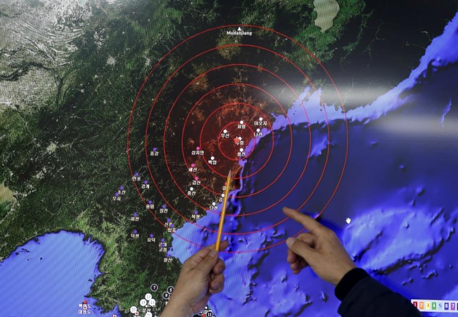 Coreia do Norte teste nuclear