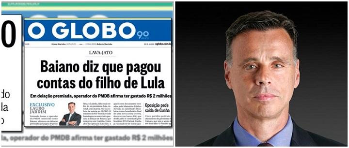 O Globo Lauro Jardim Lula