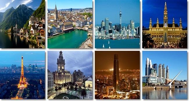 cidades viver melhor qualidade de vida mundo