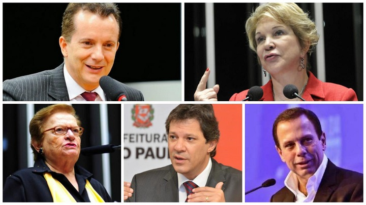 candidatos prefeitura são paulo 2016