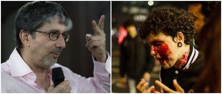 José Jairo Silva Unesp jovem manifestante
