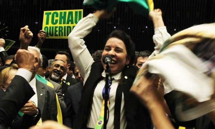 Raquel Muniz Eduardo Cunha votação
