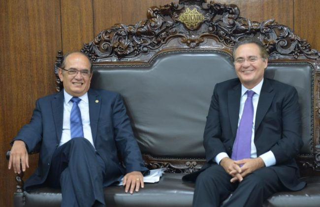 Gilmar Mendes impeachment Renan Calheiros