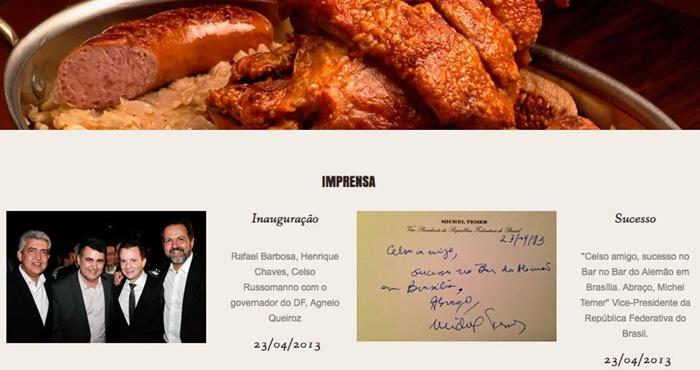 russomanno calote bar brasília aluguel cozinheiro