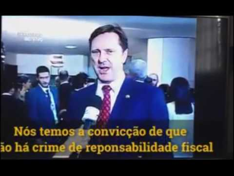 senador golpista impeachment dilma crime