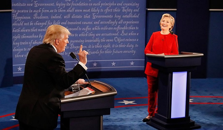 hillary clinton donald trump debate