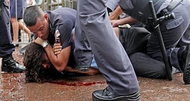 polícia repressão violencia