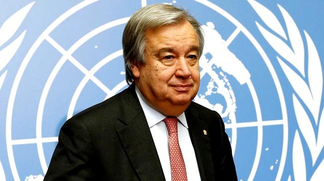 António Guterres secretário geral ONU