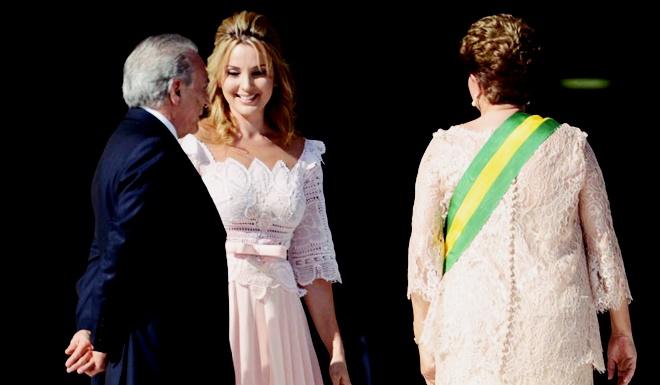 dilma marcela mulher política primeira dama