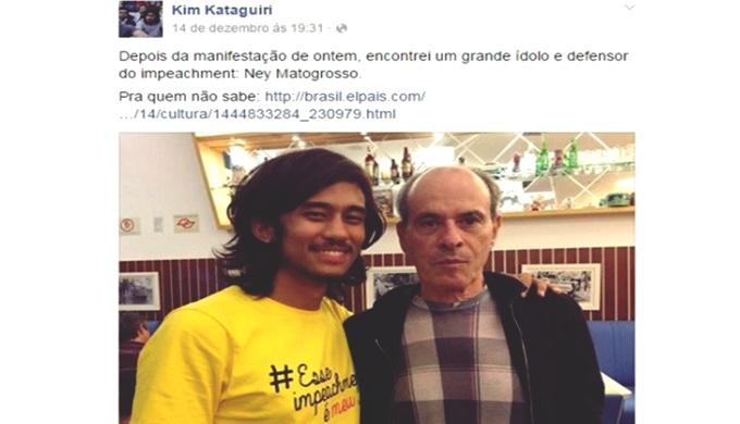Justiça kataguiri ney matogrosso impeachment