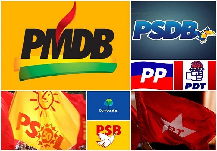 partidos políticos brasil eleições 2016