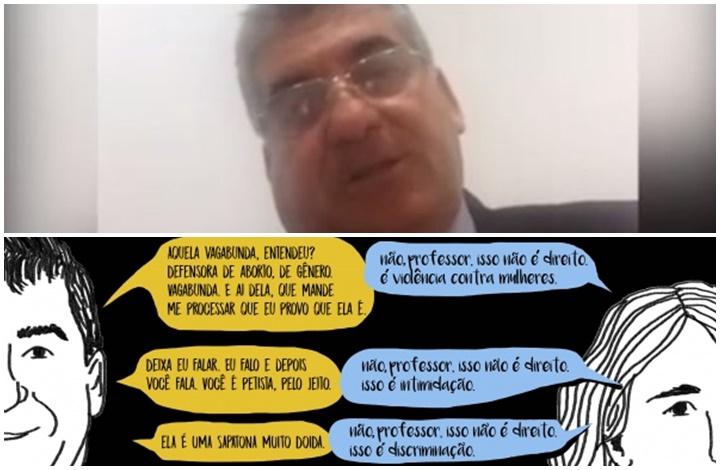 professor Samuel Milet universidade Rondônia