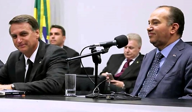Bolsonaro Pastor Everaldo presidente psc eleições 2018