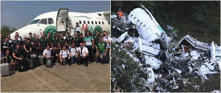 acidente voo chapecoense