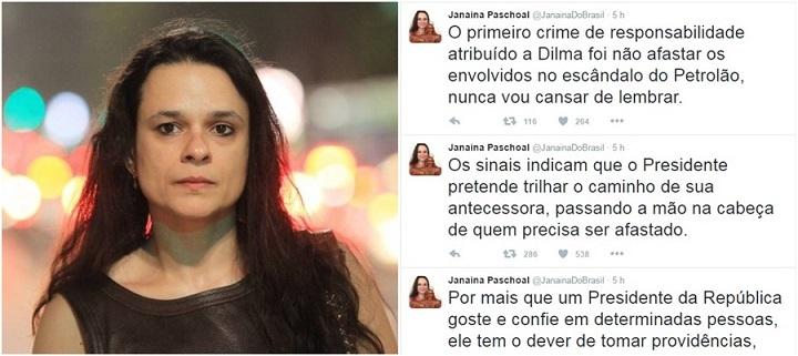 Janaina Paschoal Temer Dilma