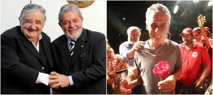 Lula Mujica Chico ato paulista