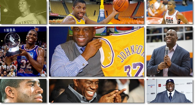 Magic Johnson eua hiv Basketball