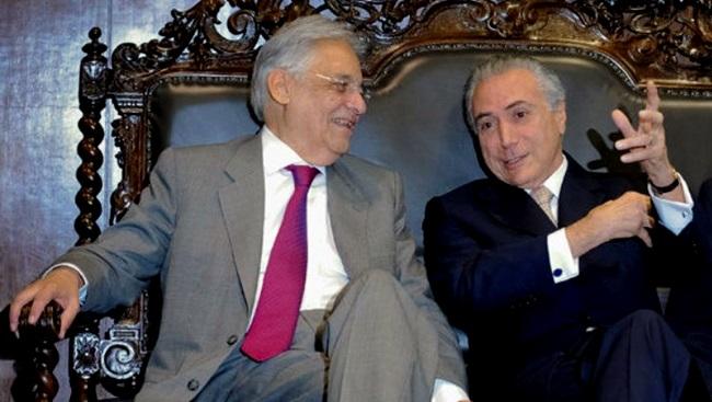 parlamentares substituir temer fhc