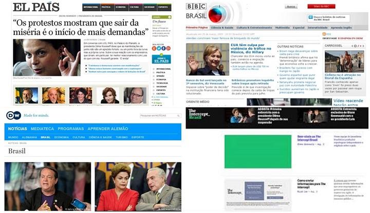 sites estrangeiros mídia brasileira