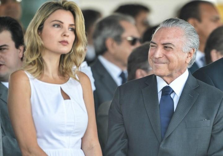 Marcela Michel Temer samba evento