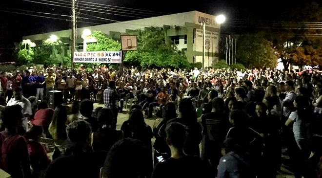 229 universidades ocupadas brasil pec 55 241