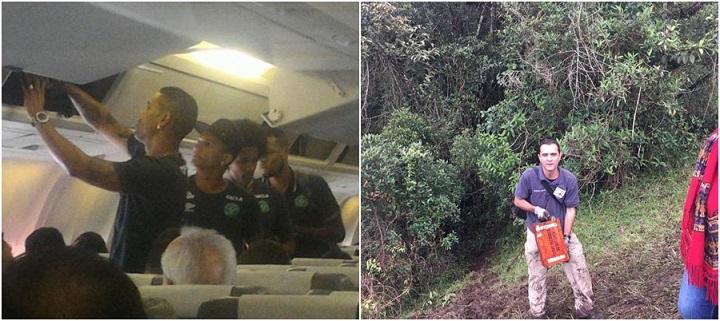 voo da Chapecoense tragédia avião