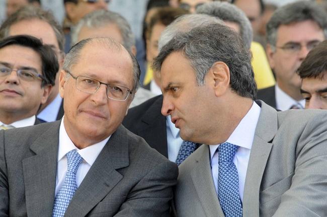 Alckmin Aécio PSDB presidência