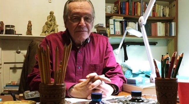 Olavo de Carvalho perfil guru direita
