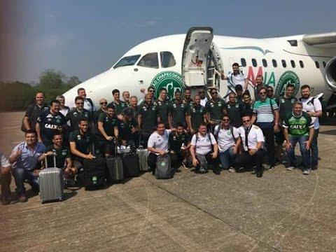 Voo da Chapecoense avião tragédia