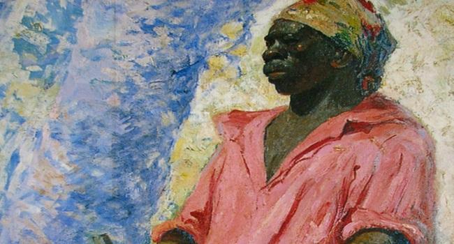 Pintura retrata Zumbi dos Palmares (reprodução)