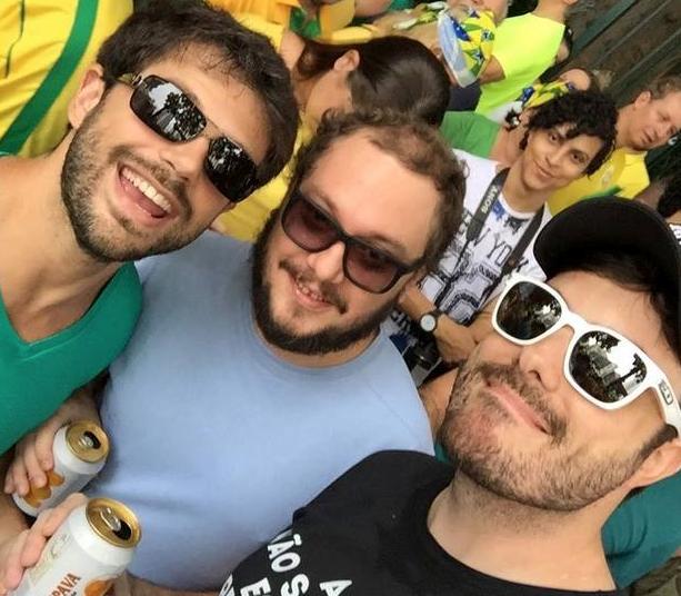Duda Nagle filho Leda Dilma