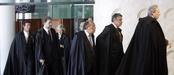ministros STF renan calheiros senado