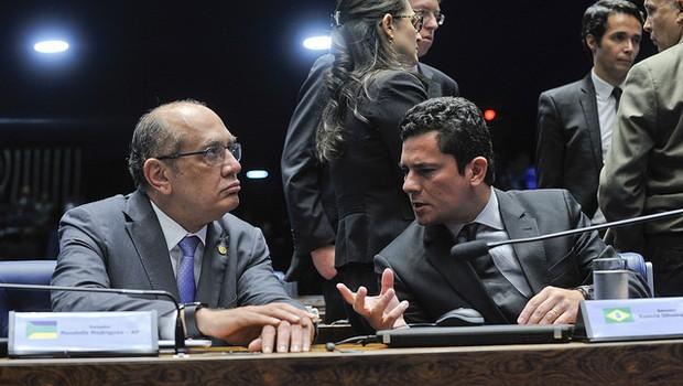 Gilmar Mendes Sergio Moro Senado