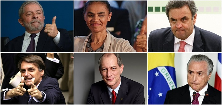 Lula lidera nova pesquisa datafolha