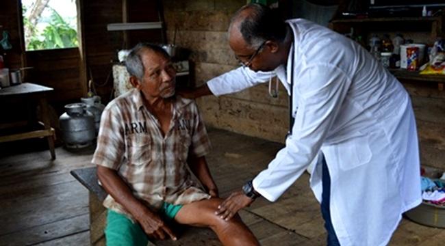 médico cubano reduz antibióticos aldeias indígenas mais médicos
