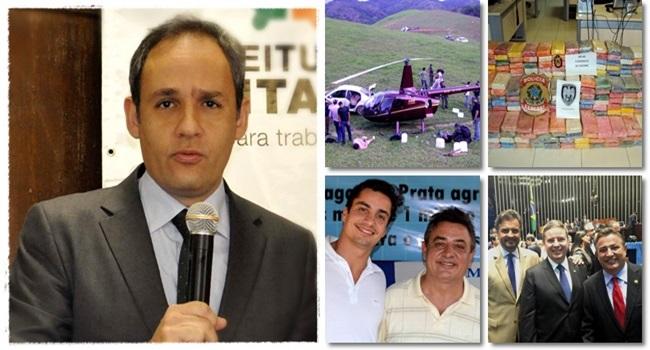 Promotor que investigava helicóptero da cocaína afastado perrella aécio anastasia