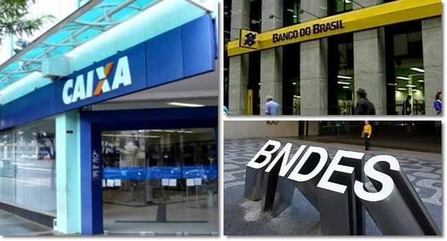ataques bancos públicos contramão mundo brasil