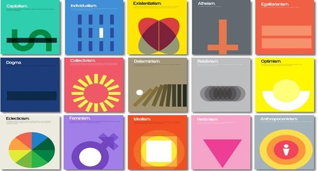 dicionário visual explica conceitos filosóficos